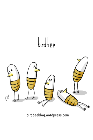 birdbee iPod/iPhone wallpaper in colour