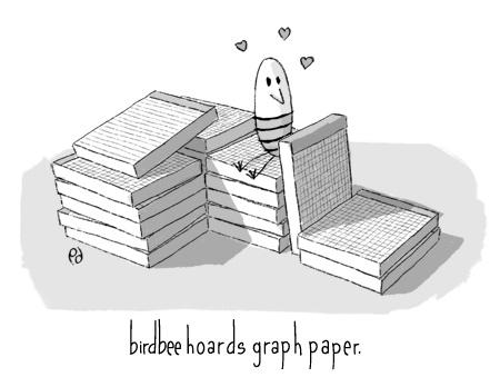 birdbee hoards graph paper.