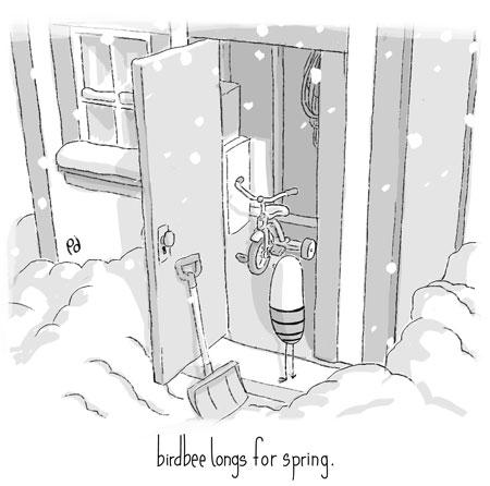 birdbee longs for spring.